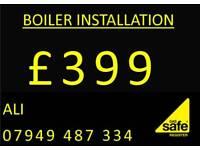 Combi boiler installation, megaflow, system, back boiler, Gas, Plumber, Heating