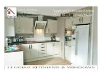 SUPPLY AND FIT HOWDENS Kitchen From £1290, Quality at Llucias kitchen fitters and window fitters