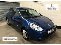 61 PLate Renault Clio 1.2 Pzaz **1 Owner from new** Fsh Ideal First Car 3 Month Warranty