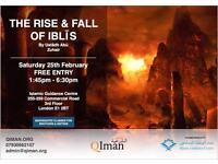 The Rise & Fall of Iblis