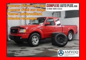 2009 Ford Ranger Sport 4x4 V6 4.0L *A/C, Mags