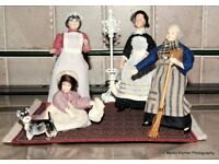 OUTSTANDING DOLLS for YOUR DOLLS HOUSE