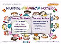 Half-term Children's Interactive Spanish Workshop