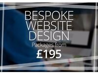 Web Design Glasgow | £195 Bespoke Website Design Package | Free Logo Design