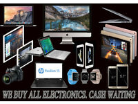 ALL ELECTRONICS WANTED-IPHONES, IMAC, IPAD, MACBOOK PRO/ AIR APPLE GIFT CARDS - LAPTOP-CAMERA