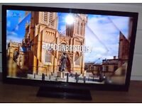 Panasonic 42 inch LED-LCD Television full HD with Freeview