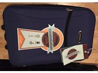 """Brand New Constellation 20"""" inch 2-Wheel Royal Blue Suitcase RRP 29.99"""