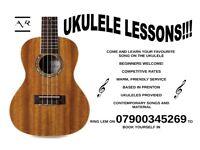 UKULELE LESSONS!!