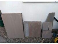 Riven Sandstone Garden Paving Tiles (MarketStone Autumn Multi)