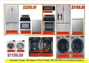 Huge Saving On Fridge , Stove , Washer and Dryer , Microwave , Dishwasher Brand New , Dent and Scratch Up to 60% Off