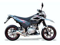 Brand New* 66 plate WK SM 125 Super Moto. Free delivery, Warranty, Part-ex 12-10