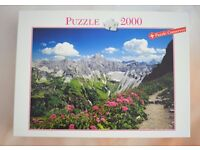 puzzle 2000 pieces, new in unopened bag