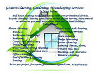 CLEANING, GARDENING & HOUSEKEEPING SERVICES