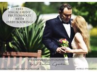 ONLY £250 FOR FULL DAY COVERAGE! Offer valid for Weddings till March 2018!
