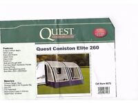Quest Coniston Elite 260 Caravan Awning