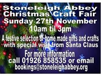 Stoneleigh Abbey Christmas Craft Fair