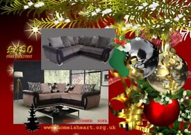 HELIX CORNER SOFA, CHRISTMAS CRACKER**£450 FREE DELIVERY TO MOST UK POSTCODES***