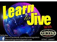 Learn to Jive! Beginners classes every Monday Harefield Uxbridge Middlesex!