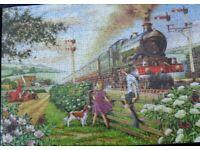 Jigsaw puzzle. Big 500 piece by H.O.P. title; Railway Children.; 8 similar £5.00 each