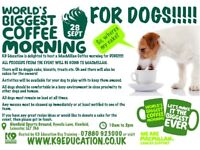 MacMillan Coffee Morning FOR DOGS - 28th September 2018 - 10am to 2pm