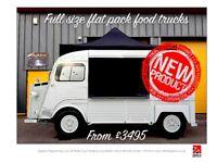 Citroen HY full size flat pack food truck / shop / coffee van / gazebo market stall
