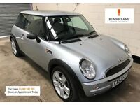 Mini One 1.6 Female owned, Panoramic Sun roof, Cd changer, Air Con, Stamped History, Warranty