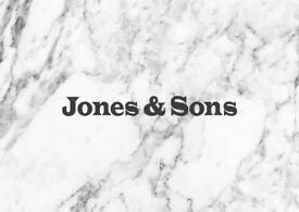 Chef de Partie position at Jones & Sons, Hackney