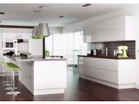 Handleless White Gloss Kitchen Complete Modern.. Hurry limited stock!