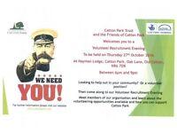 Catton Park Recruitment Evening