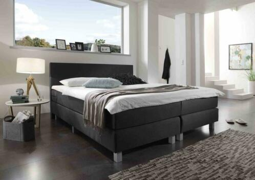 Bed Victory Compleet 160 x 200 Detroit Black €379,- !