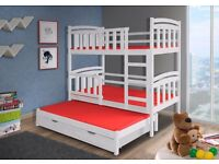 3 sleeper Bunk Bed