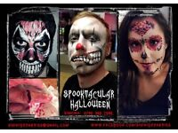 Professional Face Painter, Spooky and Glam Halloween make up ~ across London (based in Islington)