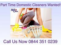 House Cleaners Wanted - WN2 and WN4 AREAS