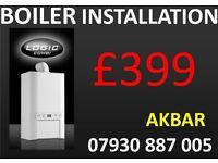 £399 Combi boiler installation,replacement,MEGAFLO,back boiler removed,PLUMBING,HEATING,VAILLANT,BAX