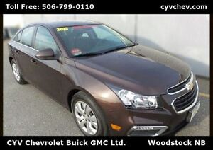 2015 Chevrolet Cruze 1LT - $9/Day - Touch Screen with Rear Camer