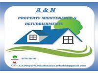 plastering,boarding,studded walls,bonding,carpet cleaning,general electrics,general plumbing,tiling