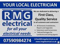 RMG Electrical - Call Richard Gordon on 07590984274