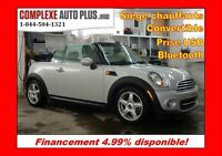 2012 Mini Cooper Convertible *Cuir, Mags, Fogs