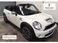 Mini Cooper S Convertible Auto Heated Leather Paddle Shift Keyless Entry & Start 3 Month Warranty