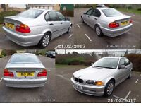 BMW 318 E46 1999 IN ALMOST SHOWROOM CONDITION VERY LOW MILEAGE WORTH A LOOK