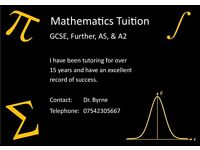 Mathematics Tuition (all levels)