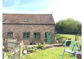 2 B ED BARN - COUNTRY SIDE TELFORD **AVAILABLE 1 JUNE**