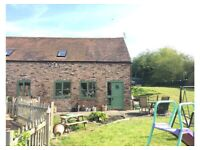 2 B ED BARN - COUNTRY SIDE TELFORD **AVAILABLE 27th JUNE**