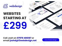 Professional Website Design - From £299