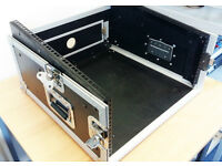 KamKase Rackmount Mixer Flight Case with amplifier space at bottom