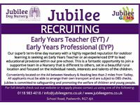 Early Years Teacher (EYT) / Early Years Professional (EYP)