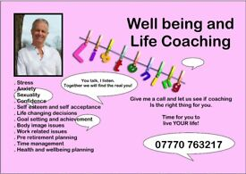 Very experienced, friendly and affordable confidence, stress and well-being life coach.