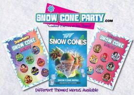 SNOW CONES PARTY