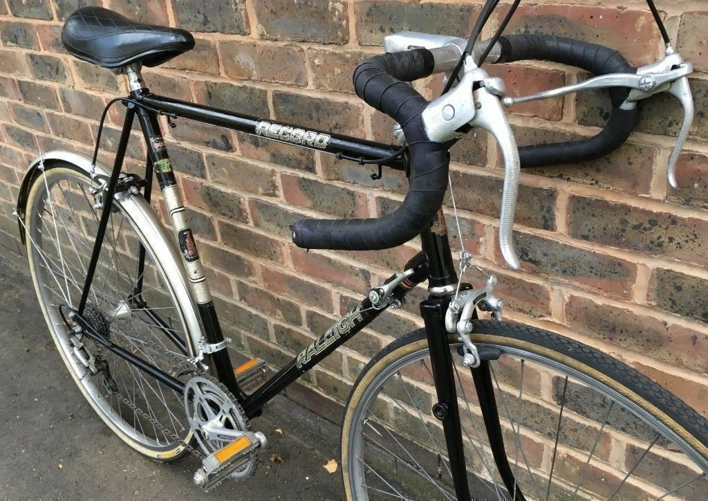 60cm Classic Raleigh TI Record Bicycle XL large frame racing bicycle race  racer road bikein Kennington 97e3f93fb