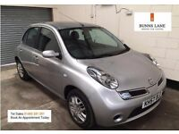 Nissan Micra 1.2 Full Service History 2 Owners Face Lift Model Bluetooth Air Con 3 Month Warranty